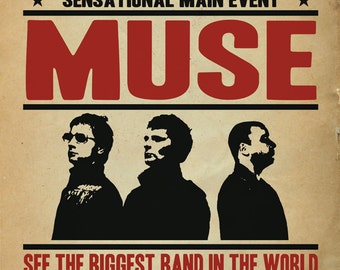 MUSE Tour Poster Concept
