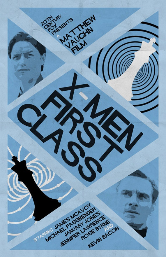 Add it to your favorites to revisit it later X Men First Class 2 Poster