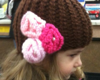 toddler girl knitted hat