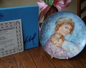Edna Hibel Collectible Plate...1984