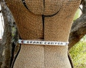 Vintage Native American-Inspired Grand Canyon leather beaded belt