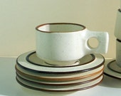 Fabrik of Seattle cup and saucer x 5