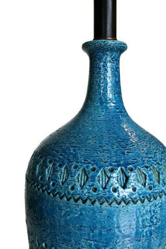 Bitossi Rimini Blue inspired lamp