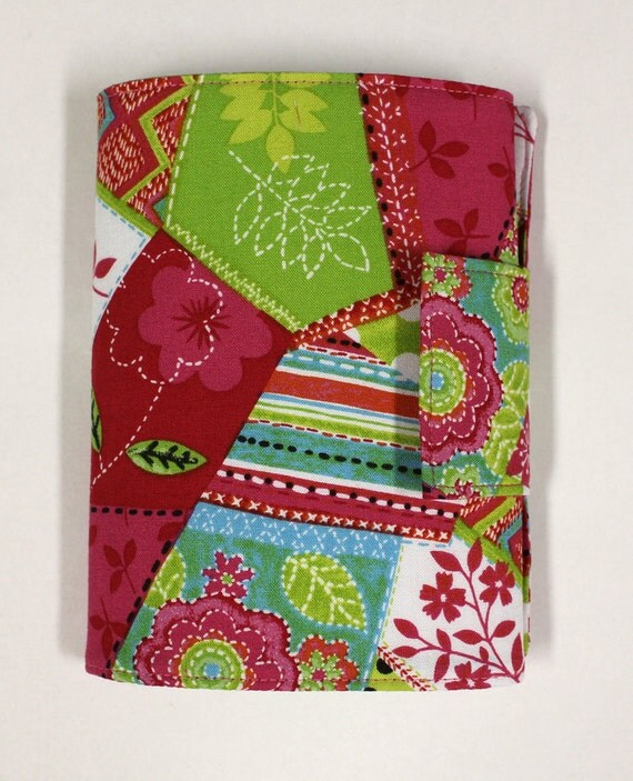 Crayon Wallet - Pink, Lime Green, Teal - READY TO SHIP
