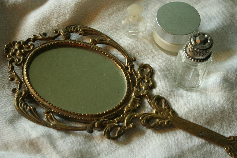 Vintage Handheld Mirror