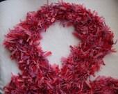 Pink fashion scarf Varigated pinks.