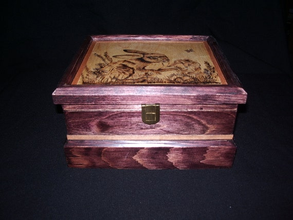 CUSTOM MADE to ORDER Jewellery/Trinket Box
