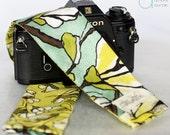 DSLR Camera Strap Cover - Magnolia Lane