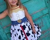 Jesse Inspired Dress, Toy Story Costume, Jesse Costume, Cowgirl Dress