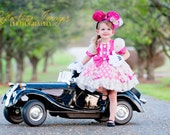 Couture Minnie Mouse Inspired Costume, Dress, Disney World Trip, Limited Quantity Available