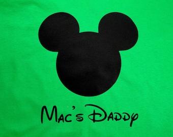 Mouse Ears mens custom shirt