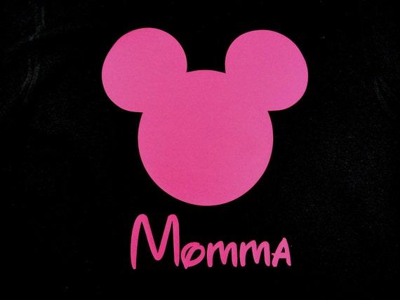 Personalized Custom Mouse Ears Women Shirt