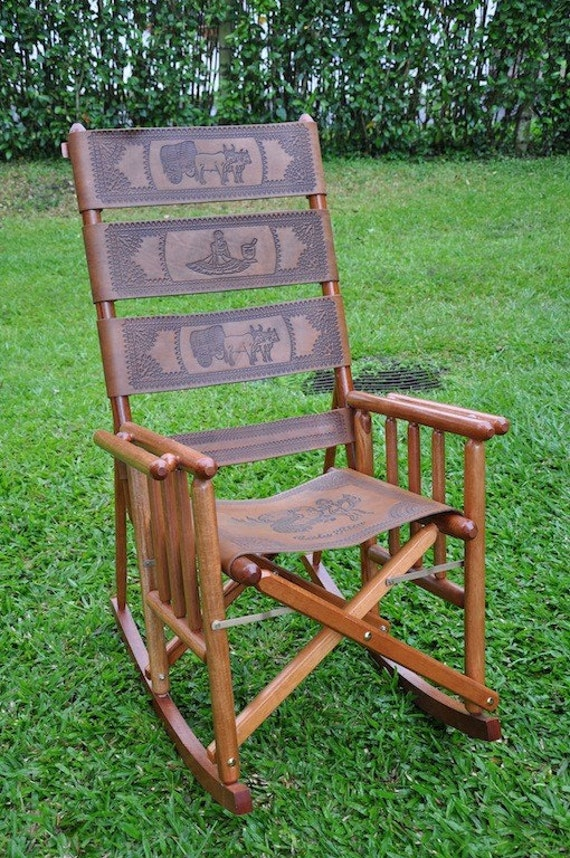 Items similar to Costa Rica Rocking Chair (Classic Large) on Etsy