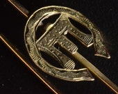 9ct brooch 1940s Betty Page