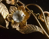 Brooch 9ct Flower, 1930s, Selfridges, Squizzy Taylor