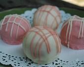 Strawberry Shortcake Truffles