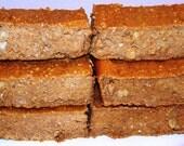 Pumpkin bars - protein bars - breakfast bars - 1 dozen