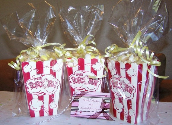 2 pounds of Popcorn Cookies in a Popcorn Box - One big box, or three little ones