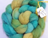 ON SALE Roving Handpainted Jacob Top 100g