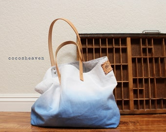 Extra-Large Canvas Ombre Tote Bags Wedding Package by cocosheaven