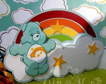 Care Bear Invitation