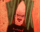 Pinhead Larry Reproduction Magnet 3.25x2