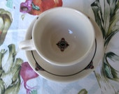 Sterling China cup and saucer