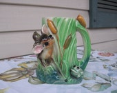Fawn and Frog Planter