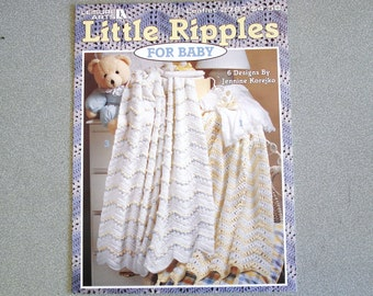 Leisure Arts Crochet Leaflet LITTLE RIPPLES Issue 2787.