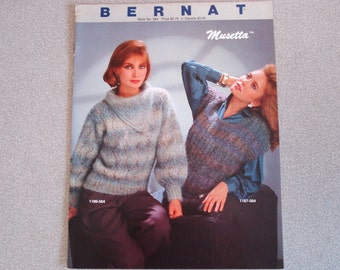 Vintage BERNAT Knitting Booklet Issue 564.