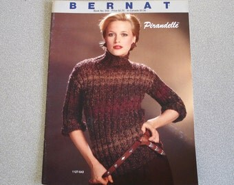 Vintage BERNAT Knitting Booklet Issue 543.