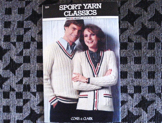 Vintage Coats And Clark Red Heart Booklet Issue 271 Sports