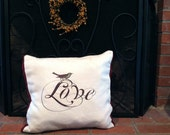 Love This Pillow Eco friendly Holiday Collection