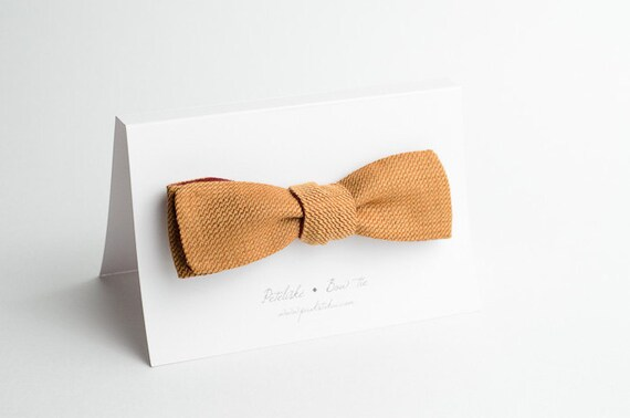 SLIM double-sided bow tie