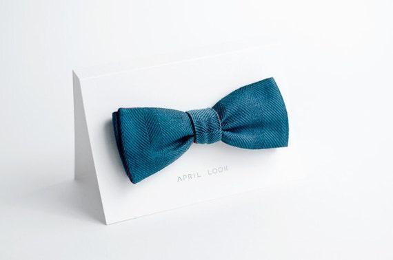 Groomsmen bow tie - double sided
