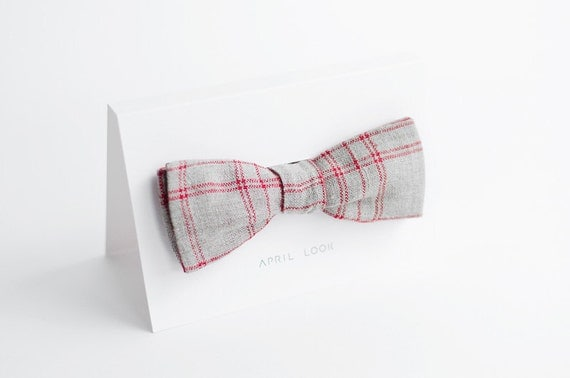 Mens bow tie - double sided