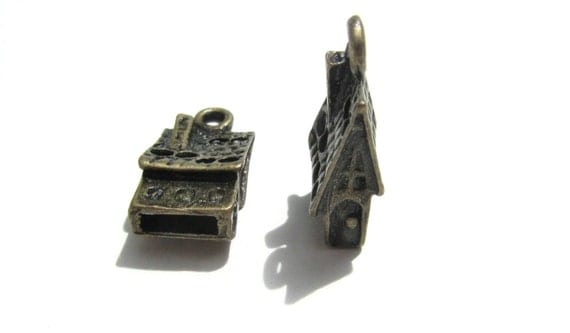 Houses Bronze Tiny Tall Home 30 PIECES