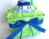 Boys Are Sweet Too Single Serve Sundae Baby Gift Set - Baby Shower Gift