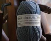 Rare Breed Shetland DK wool from North Devon Sheep