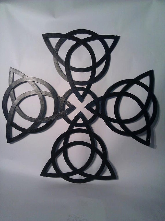 Celtic Knot Cross Wall Art