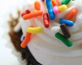 Chocolate Cupcake Fine Art Print, cupcake photography, Dessert Print, cupcake home decor, cupcake wall art, kitchen art, Foodie Gift