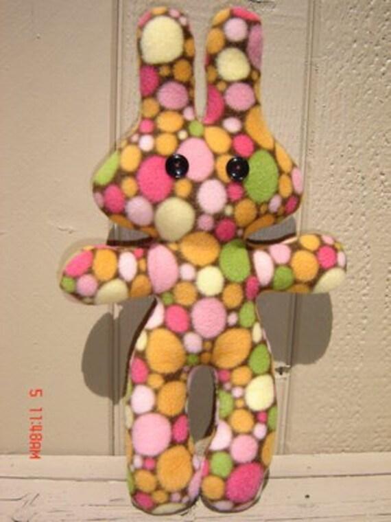 CLEARANCE SALE Plush Bubble Bunny (was 15.00 )