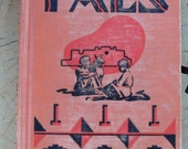 1936 textbook Pals by Elizabeth Willis De Huff illustrated by Gerald Cassidy native southwestern theme folk lore from Diz Has Neat Stuff