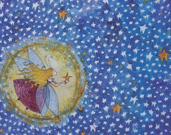 Starry Night Fairie - Small Print