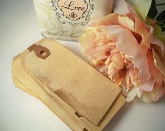 100 MEDIUM Place Card. Bohemian. Anthropologie. Travel Theme Hang Tag. Vintage Wedding. Name Escort Card. Save The Date. Luggage Tag. LIGHT