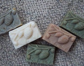 Shepherd's Heart Molded Pinecone Kinder Goat Soap