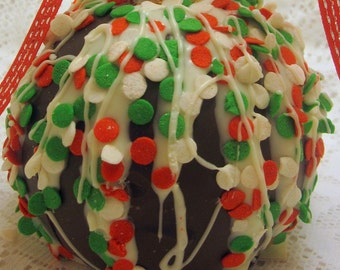 3-Pack Holiday Caramel Chocolate Apples
