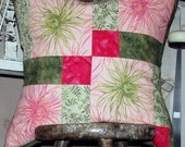 RESERVED. Spring is Here. 18x18 patchwork pillow covers.