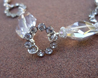 Crystal Bracelet Wedding Bracelet Sterling Silver Jewelry Bride Prom Jewellery Sparkle Ice Clear Shopping Fashion Style B-9