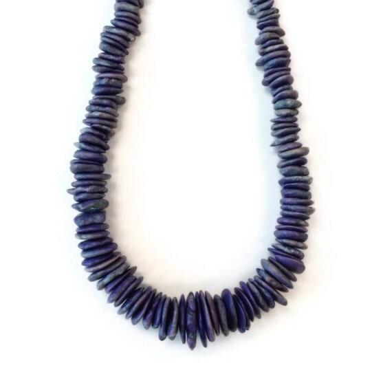purple necklace chunky turquoise jewelry gemstone